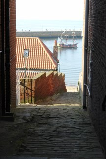 Whitby alleyway | H is for Home
