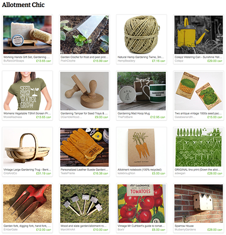 'Allotment Chic' Etsy List curated by H is for Home