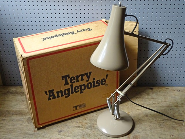 Vintage Anglepoise lamp and original box | H is for Home