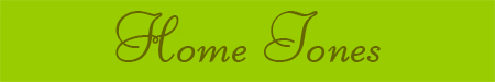 'Home Tones' blog post banner