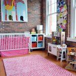 Get their look: Bright, colourful nursery