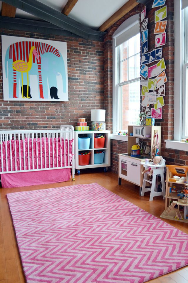 Bright, colourful nursery