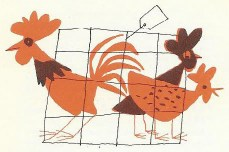 Bill Charmatz chicken illustration | H is for Home