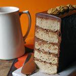 Cakes & Bakes: Chocolate caramel chestnut cake