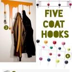 Gimme Five! Coat hooks