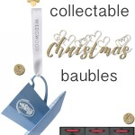Christmas gifts of the day: Collectable Christmas baubles