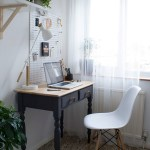 Get their look: Compact home office corner