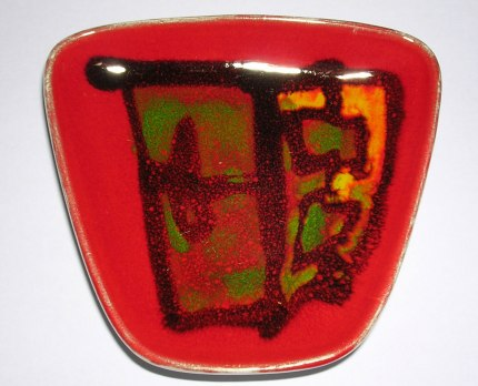 Poole Pottery 'Delphis' pin dish | H is for Home