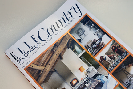Elle Decoration Country issue one cover