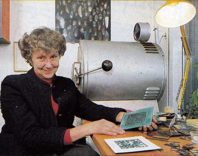 Portrait of Eva Hidström