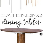 Price Points: Extending dining tables