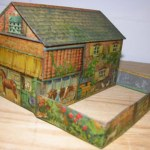 Charity Vintage: Huntley & Palmer farmyard biscuit tin