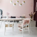 Get their look: Feminine Scandi dining room