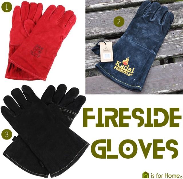 Fireside gloves | H is for Home