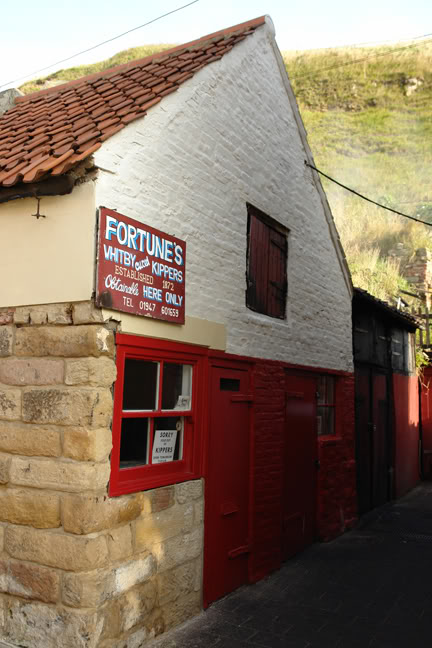 Fortunes kipper shop & smokehouse, Whitby | H is for Home