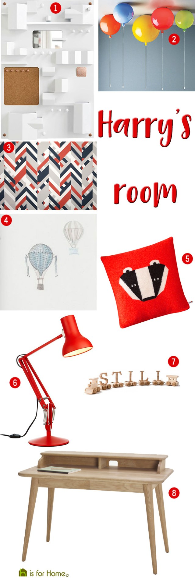 Get their look: Harry's room | H is for Home