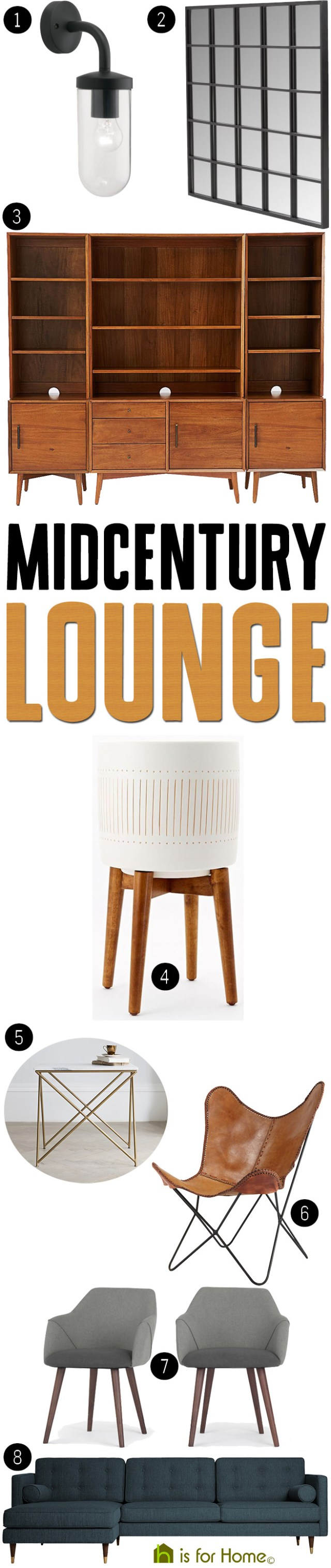 Get their look: Mid-century lounge | H is for Home