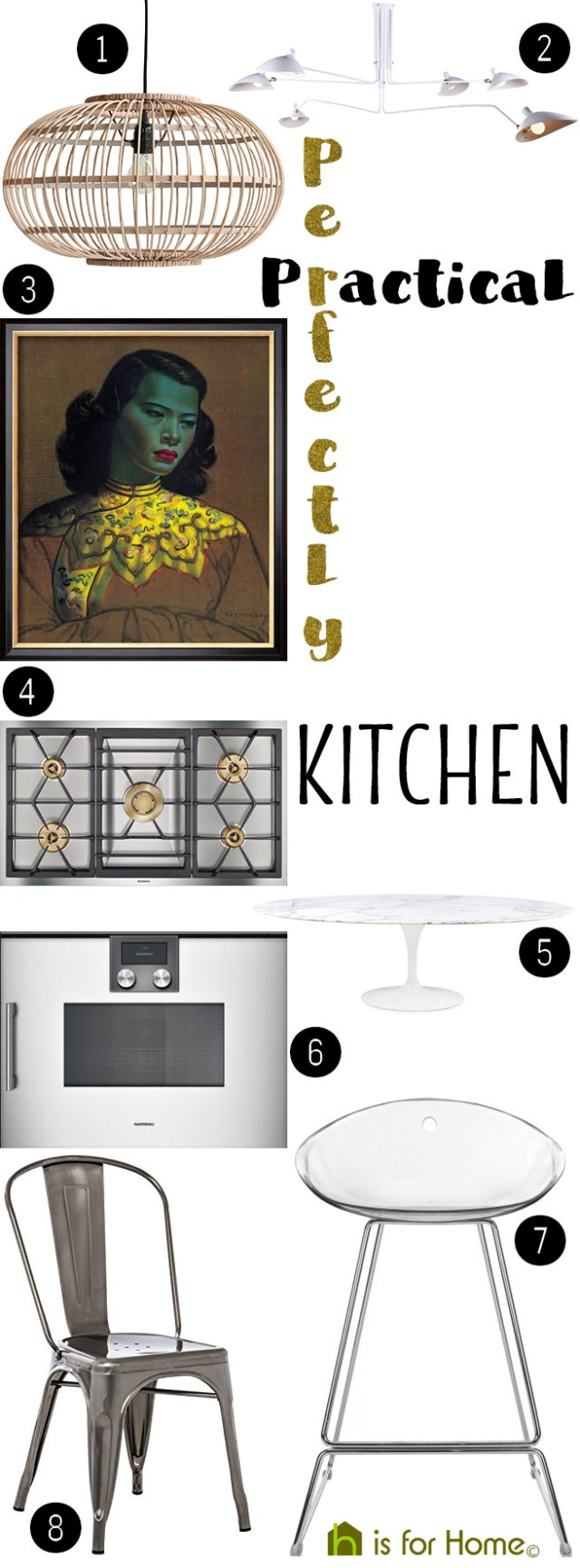 Get their look: Perfectly practical kitchen | H is for Home