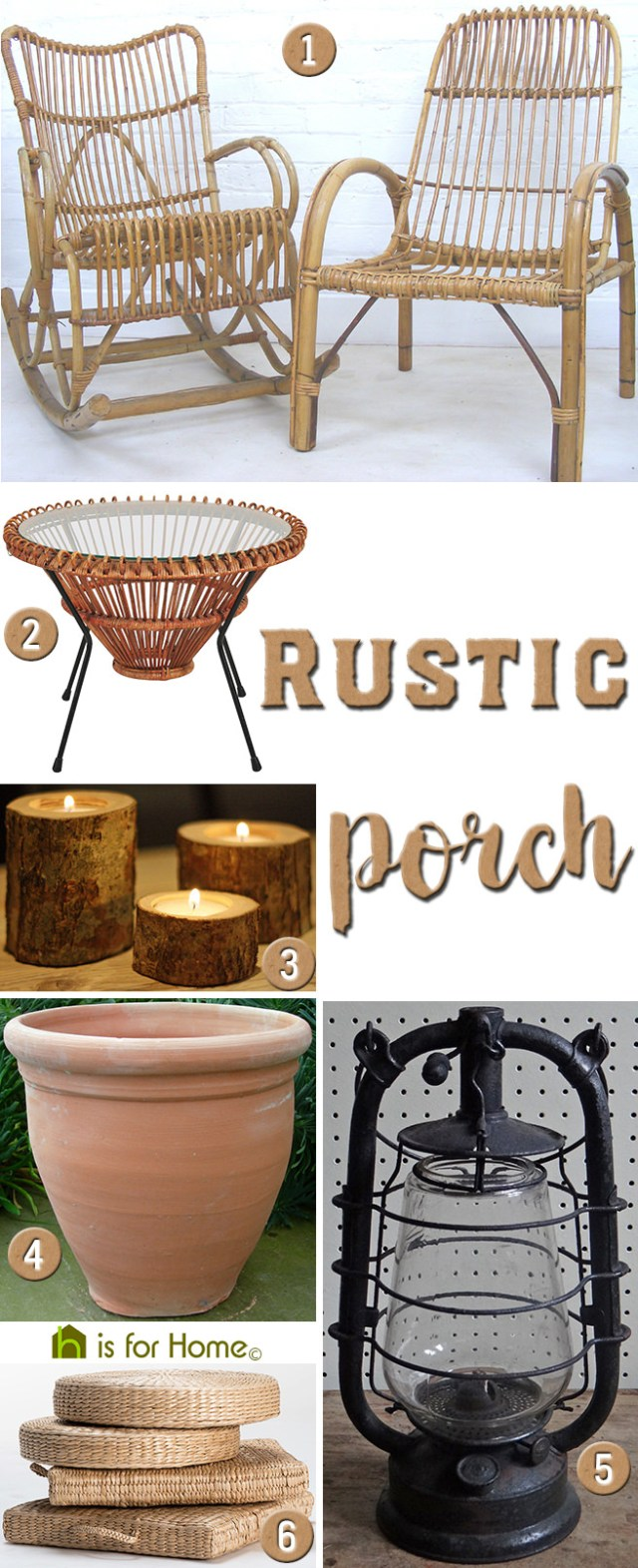 Get their look: Rustic porch | H is for Home
