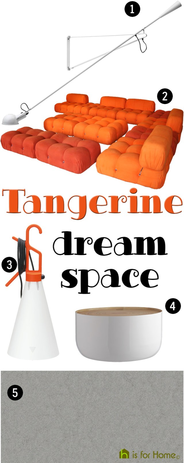 Get their look: Tangerine dream space | H is for Home