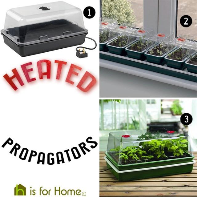 Heated propagators
