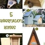 Gimme Five! Hibernation homes