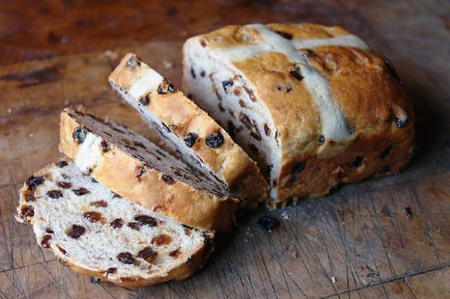 Home-made hot cross loaf | H is for Home