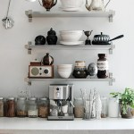 Get their look: Eclectic kitchen shelving