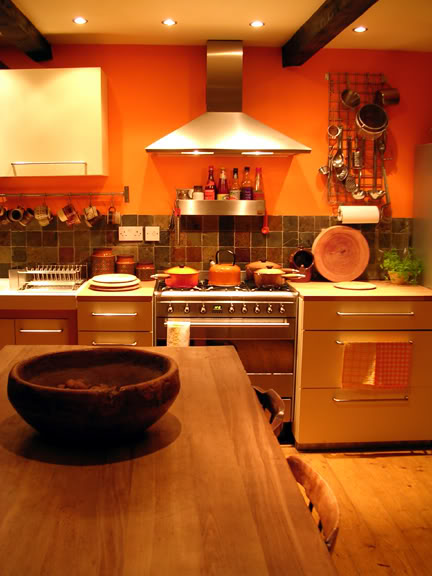 photo of the cooker in our kitchen