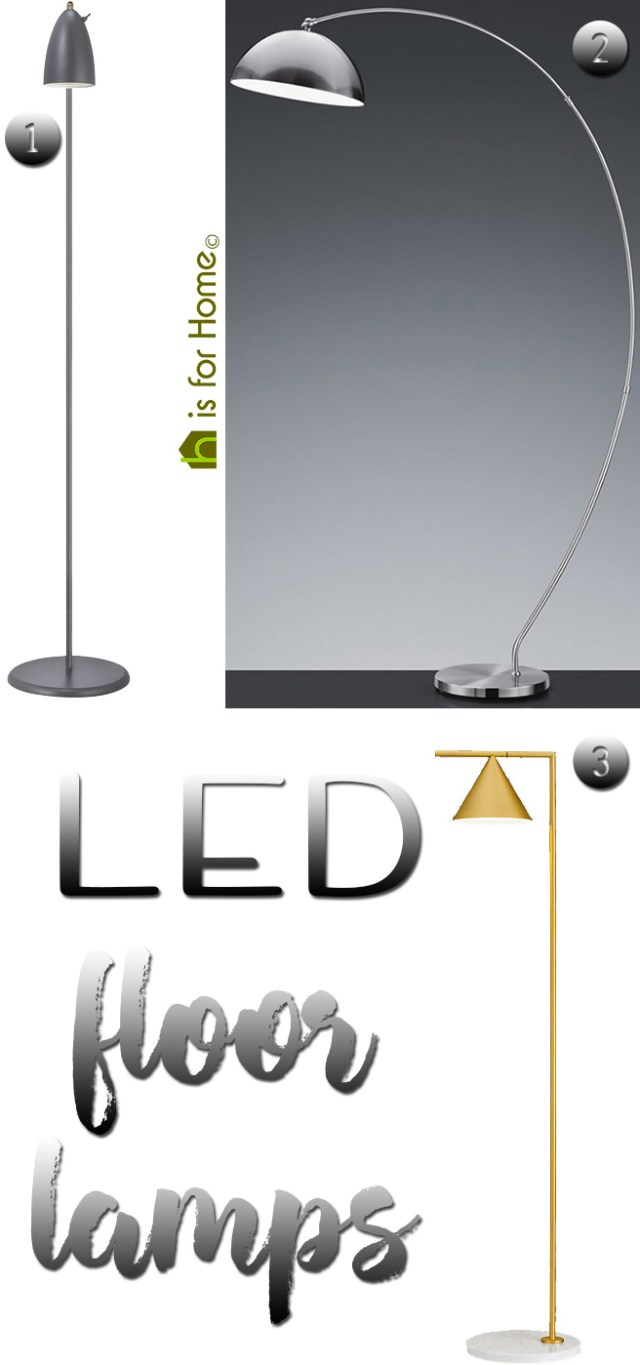 LED floor lamps | H is for Home