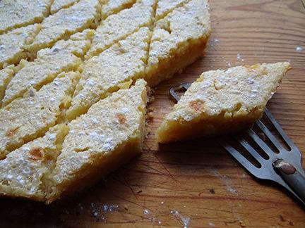 Home-made lemon marmalade bars | H is for Home #recipe #cake #lemon #lemoncake