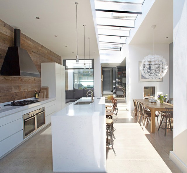 Light-filled kitchen diner