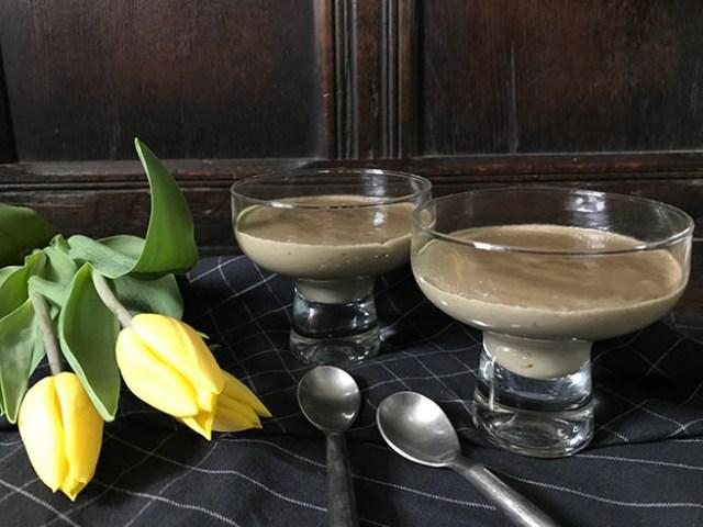 Nigella's liquorice pudding
