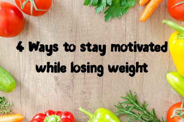 4 Ways to stay motivated while losing weight | H is for Home