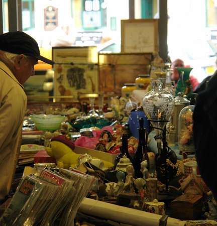 Todmorden Market stall