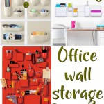 Price Points: Office wall storage