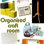 Monthly Mood Board: Organised craft room