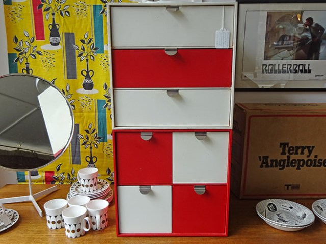 Vintage Papaset Treston storage boxes | H is for Home