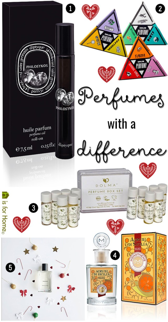 Perfumes with a difference that make great Christmas presents   H is for Home