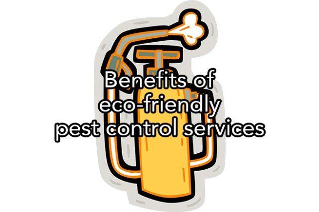 Benefits of eco-friendly pest control services