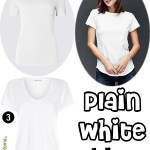 Price Points: Plain white T-shirts