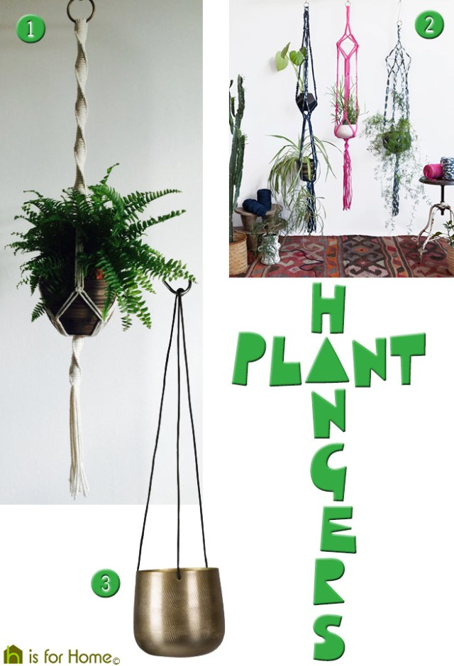 Plant hangers | H is for Home