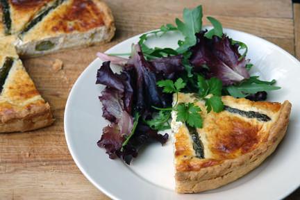 Asparagus & Gruyère Tart