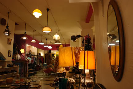Inside Pop Boutique, Manchester