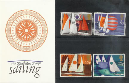 Vintage Royal Mail Sailing presentation pack