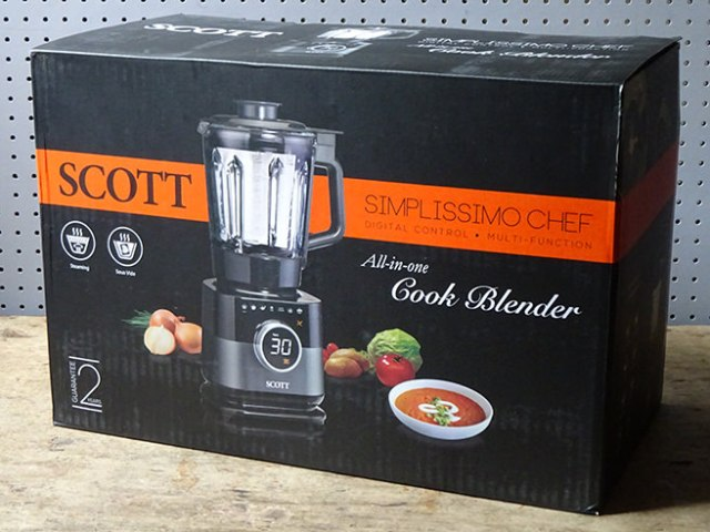 Scott Simplissimo Chef all-in-one cook blender