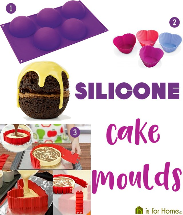 Silicone cake moulds | H is for Home