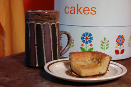 Vintage 3 tier cake tin, Briglin mug and chocolate brownie | H is for Home