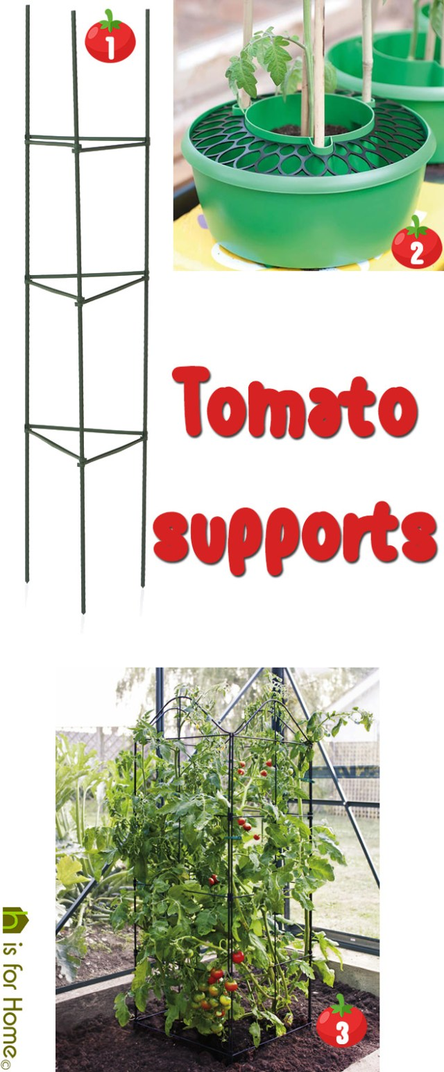 Tomato supports | H is for Home
