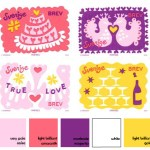 Tuesday Huesday: Swedish Valentine's Day stamps